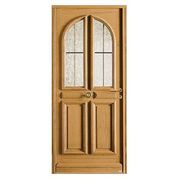 Porte d'entrée en bois Alsace